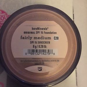bareMinerals Makeup - Bare Mineral Foundation FAIRLY MEDIUM